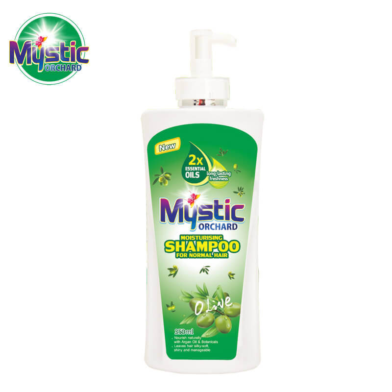 Orchard Moisturising Shampoo For Normal Hair Olive MYSTIC