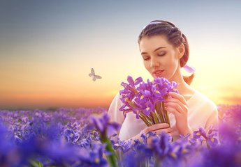 Floral scents affect the brain