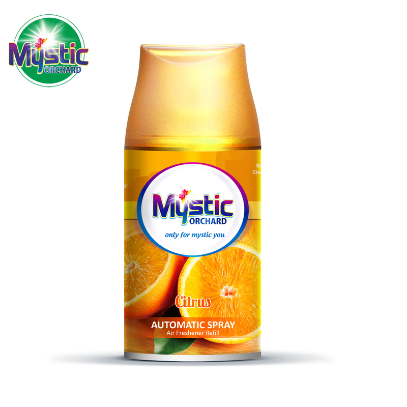 Air Freshener Refill Citrus Scents 250ml MYSTIC ORCHARD